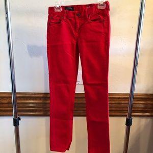 J Crew Woman's Matchstick jeans 26 R